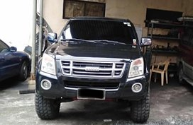 Black Isuzu D-Max 2008 for sale in Quezon City