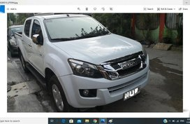 White Isuzu D-Max 2015 for sale in Cebu City