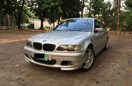 Silver Bmw 3-Series for sale in Manila