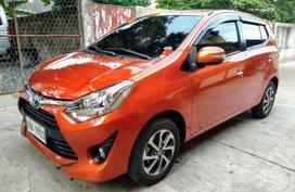 Toyota Wigo G 2019 Automatic not 2018