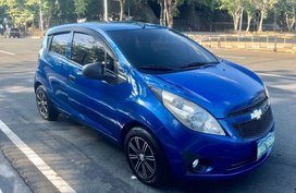 Sell Blue Chevrolet Spark in Manila