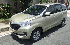 Beige Toyota Avanza 2018 for sale in Quezon City
