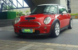 Red Mini Cooper 2002 for sale in Quezon City