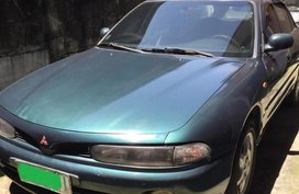 Grey Mitsubishi Galant 1995 for sale in Quezon City