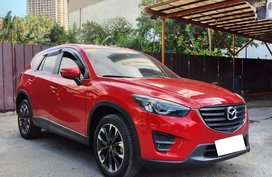 Mazda CX-5 AWD 2016 SUV Fresh Red Available now in Pasig Metro Manila