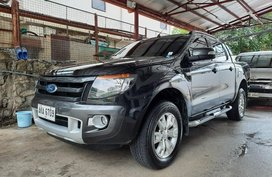 Selling Black Ford Ranger 2015 in Mandaluyong City