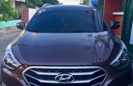 Selling Brown Hyundai Tucson 2015 in Quezon City