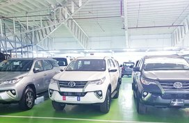 2020 Toyota Fortuner 4x2 G AT DSL