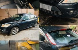 Black Ford Focus 2010 for sale in Quezon City