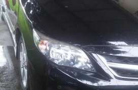 Black Toyota Corolla altis 2013 for sale in Bacolod City
