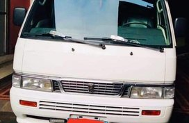 White Nissan Urvan 2013 for sale in Pasay City
