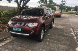 Selling Red Mitsubishi Montero 2012 in Marquee Place