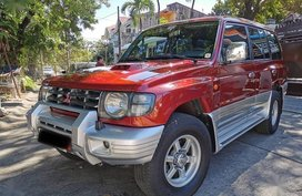 Orange Mitsubishi Pajero 2004 for sale in Quezon City