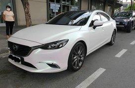 Selling Pearl White Mazda 6 2017 in Manila