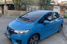 Selling Blue Honda Jazz 2015 in Bacoor