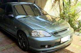 Blue Honda Civic 2000 for sale in Quezon City