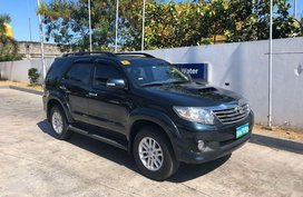 Black Toyota Fortuner 2013 for sale in Muntinlupa City