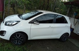 Selling White Kia Picanto 2014 in Manila