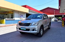 2014 Toyota HiLux MT 648t Nego Batangas Area