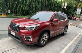 Maroon Subaru Forester 2019 2.0i-L with Eyesight Technology for sale in Eastwood, Q.C.
