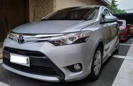 Selling Silver Toyota Vios 2016 Sedan Automatic in Quezon City