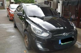 Selling Black Hyundai Accent 2005 in Quezon City