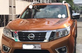 Orange Nissan Navara 2018 for sale in V