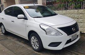 White Nissan Almera 2014 for sale in Manila