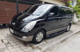 Black Hyundai Grand starex 2016 for sale in Mandaluyong City