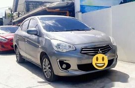 Silver Mitsubishi Mirage 2018 Hatchback for sale