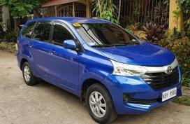 Selling Blue Toyota Avanza 2017 SUV / MPV in Manila
