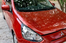 Sell Red 2015 Mitsubishi Mirage Sedan in Quezon City