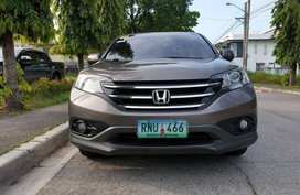Selling Grey Honda Cr-V 2014 SUV / MPV in Manila