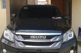 Black Isuzu Mu-X 2015 SUV / MPV for sale in Imus