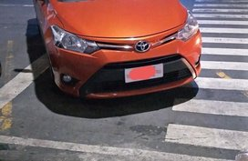 Selling Orange Toyota Vios in Manila