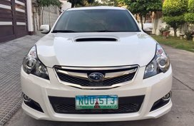 White Subaru Legacy 2010 Sedan for sale in Manila