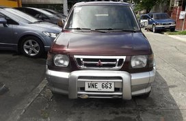 Maroon Mitsubishi Adventure 2000 SUV / MPV for sale in Manila