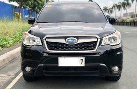Black Subaru Forester 2014 SUV / MPV for sale in Manila