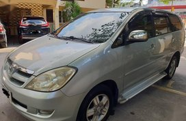 White Toyota Innova for sale in Manila