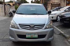 Selling Silver Toyota Innova 2011 SUV / MPV at Manual  in Manila