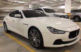 Selling White Maserati Ghibli 2016 Sedan in Manila