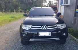Black Mitsubishi Montero 2014 SUV / MPV for sale in Calamba
