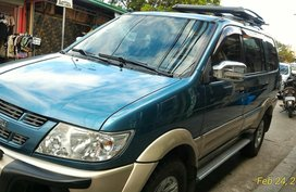 Selling Blue Isuzu Crosswind 2008 SUV / MPV in San Jose del Monte