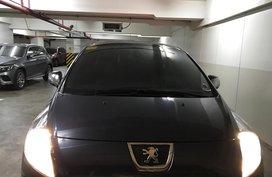 Black Peugeot 3008 2014 SUV / MPV for sale in Manila