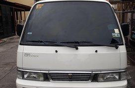 Sell White 2013 Nissan Urvan Van in Manila
