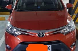 Sell Orange 2014 Toyota Vios in Quezon City