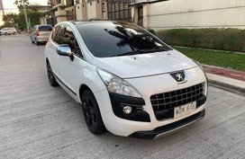 Sell White 2013 Peugeot 3008 in Manila