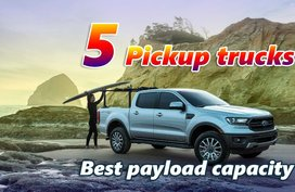 5 Pickup trucks with the best payload capacity