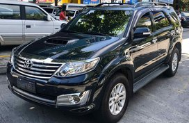 2013 Toyota Fortuner G 2.5L AT
