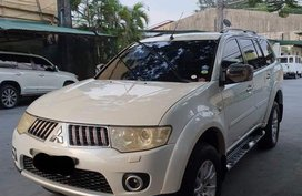 White Mitsubishi Montero Sport 2011 for sale in Manila